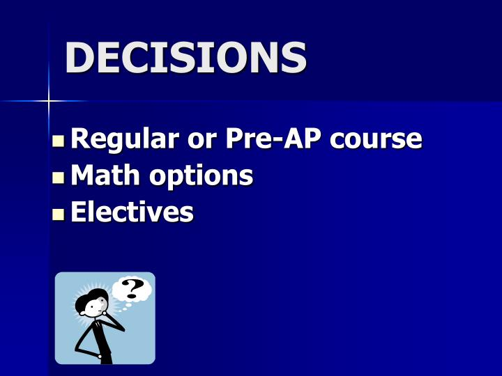 Regular or Pre-AP course
