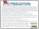 preelectura