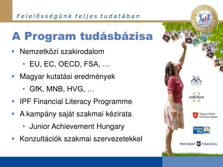 A Program tudásbázisa