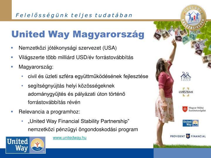 United Way Magyarország