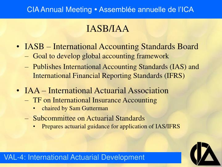 IASB – International Accounting Standards Board