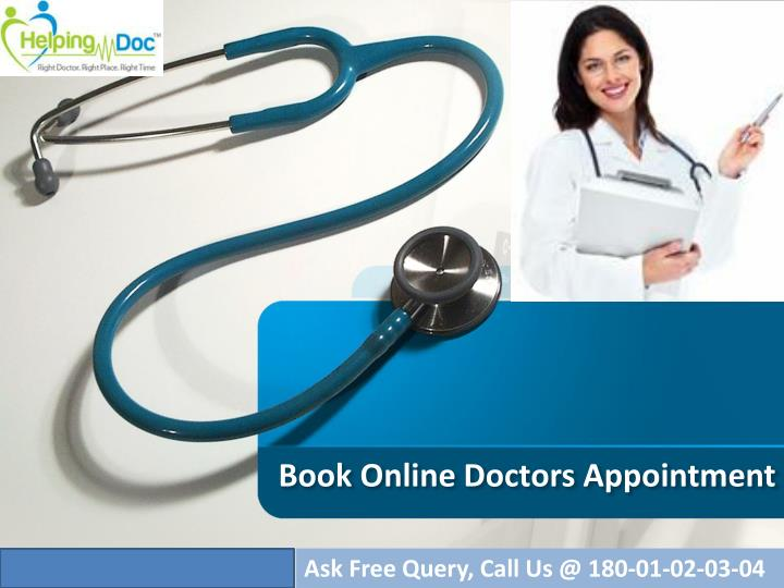 Book online doctors appointment