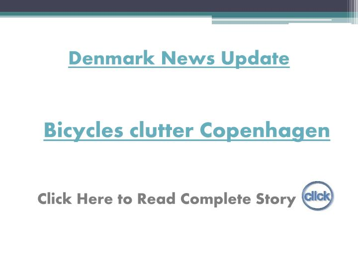 Denmark News Update