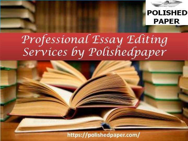 professional essay editing