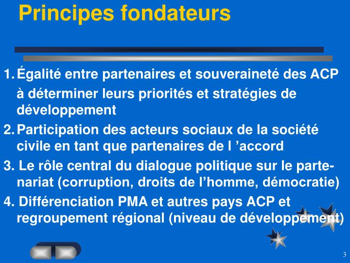 Principes fondateurs