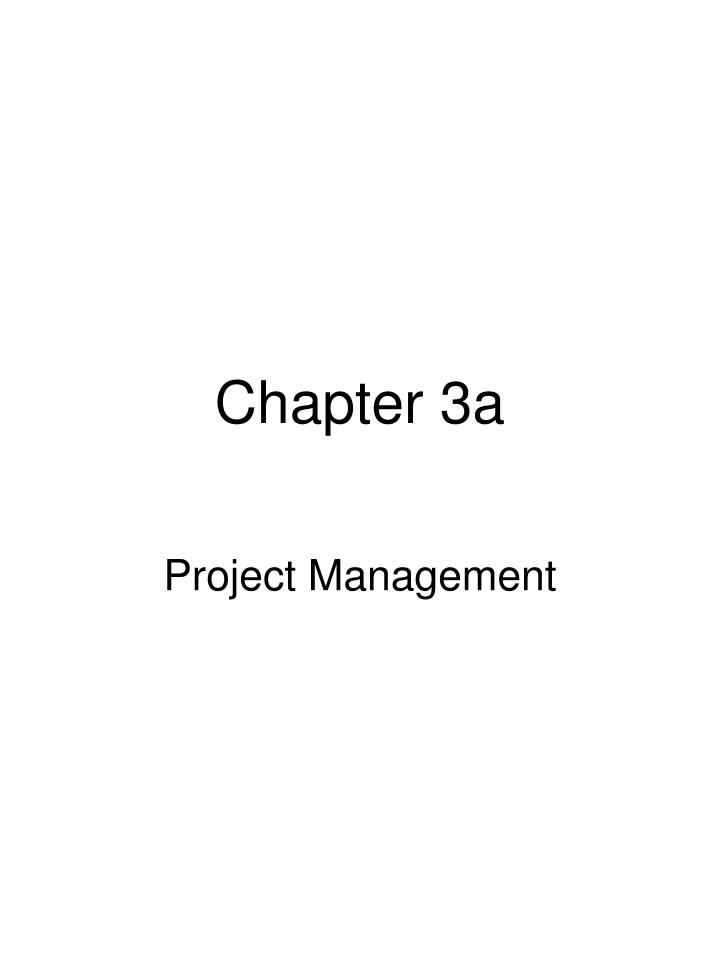 Chapter 3 a