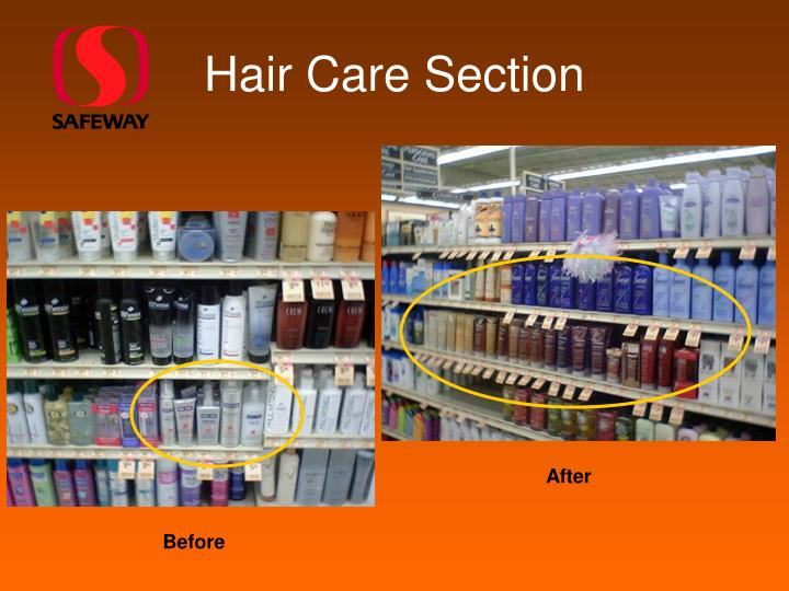 Hair Care Section