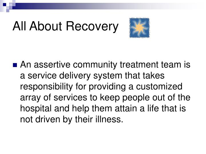 All About Recovery