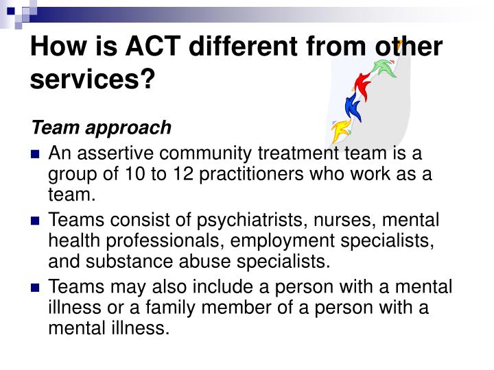 How is ACT different from other services?