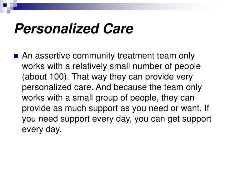 Personalized Care
