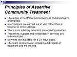 principles of assertive community treatment1