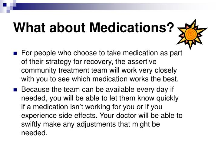 What about Medications?