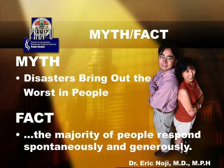 MYTH/FACT