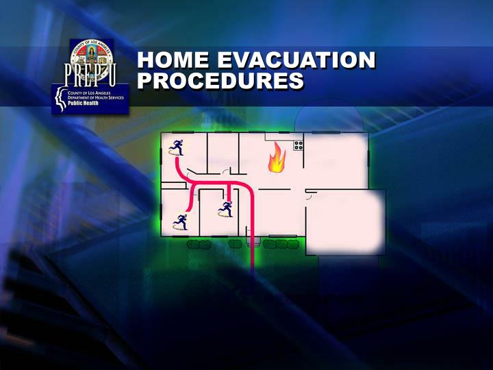 HOME EVACUATION PROCEDURES