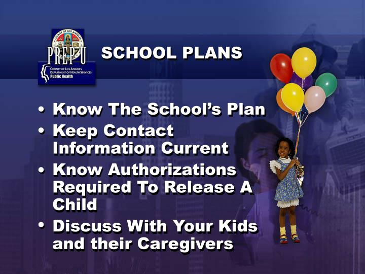 Know The School's Plan