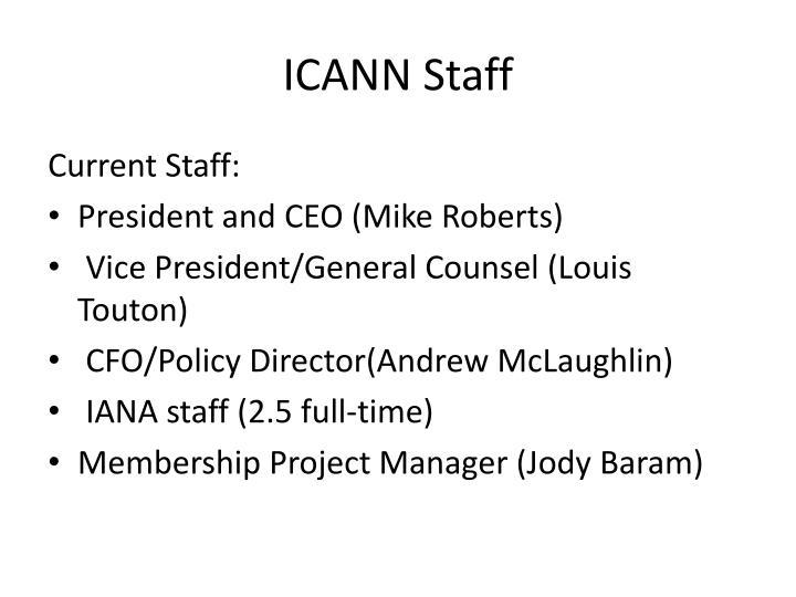 ICANN Staff
