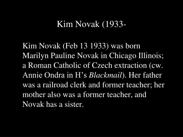 Kim Novak (1933-