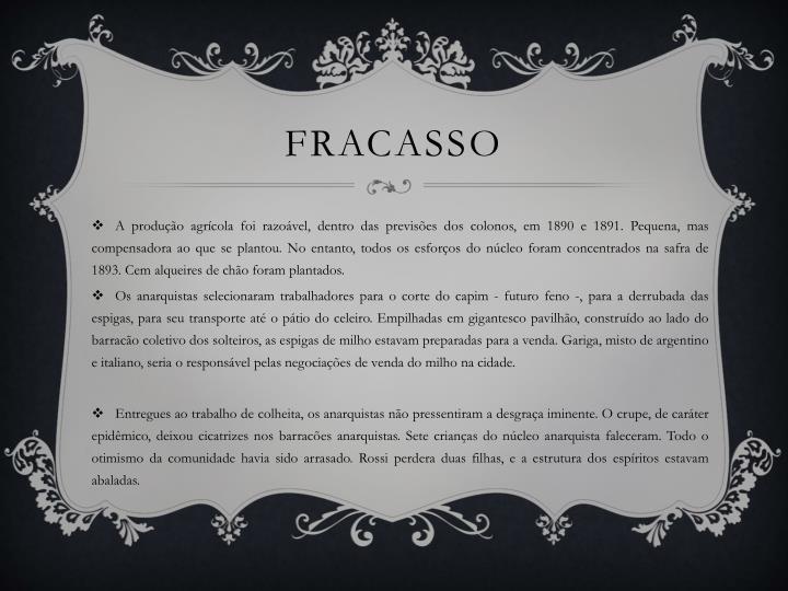 FRACASSO