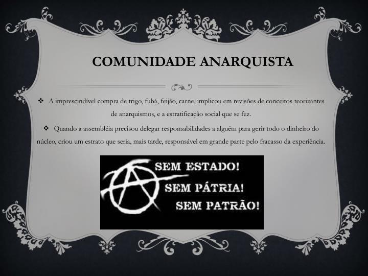 COMUNIDADE ANARQUISTA
