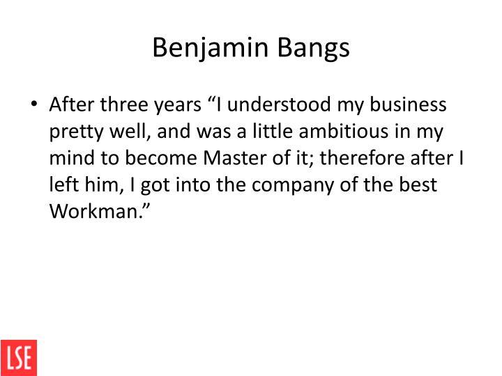 Benjamin Bangs