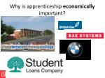 why is apprenticeship economically important3