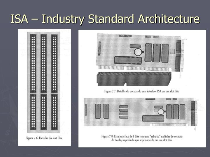 ISA – Industry Standard Architecture