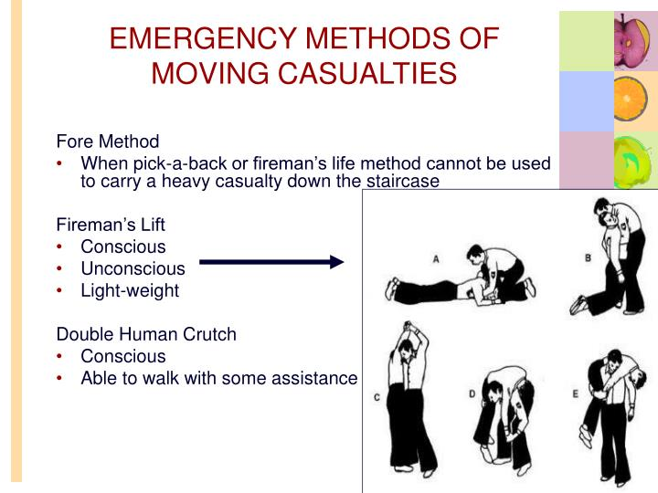 EMERGENCY METHODS OF MOVING CASUALTIES