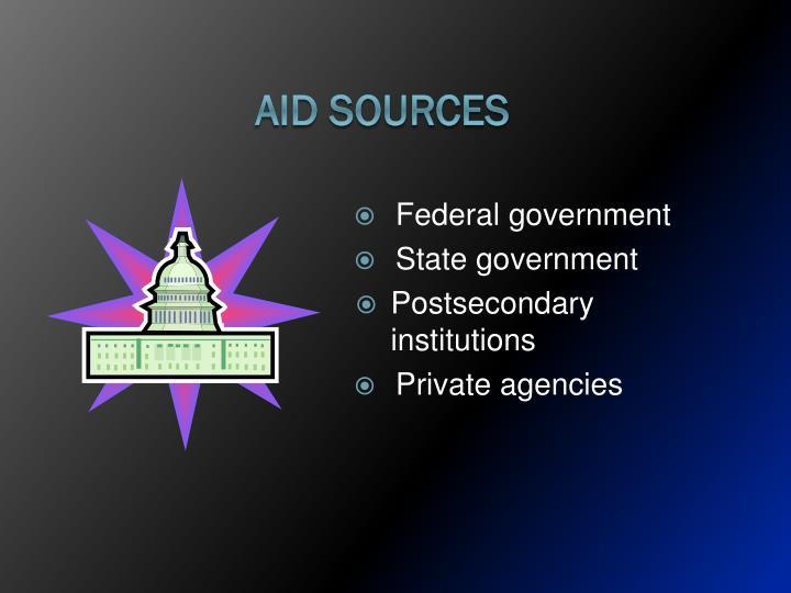 Aid Sources