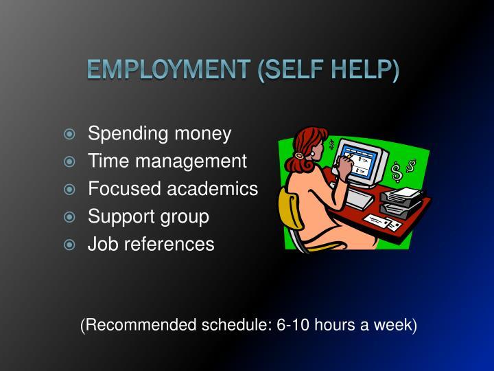 Employment (Self Help)