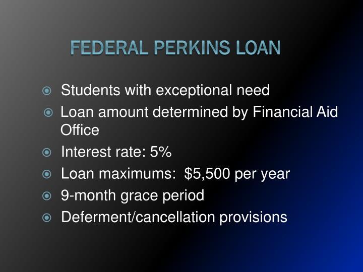 Federal Perkins Loan
