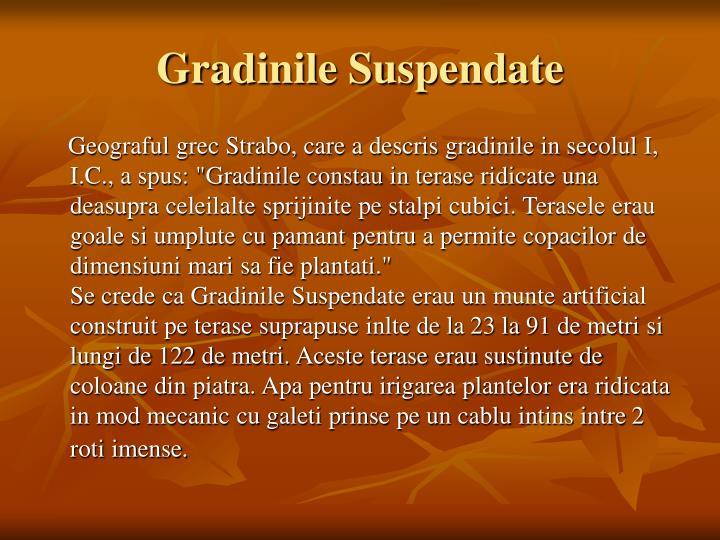 Gradinile Suspendate