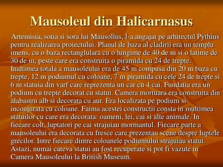 Mausoleul din Halicarnasus
