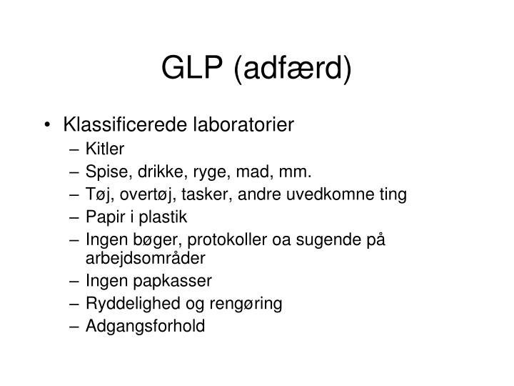 GLP (adfærd)