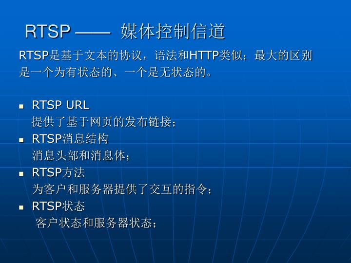 RTSP ——