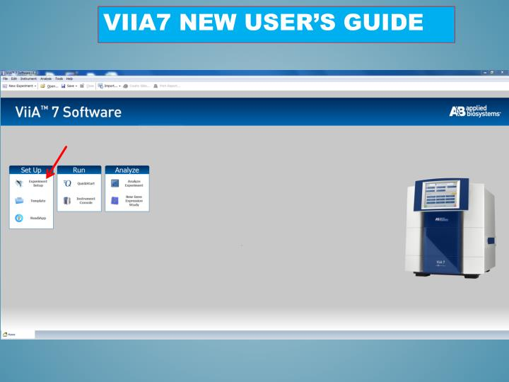 Viia7 new user s guide