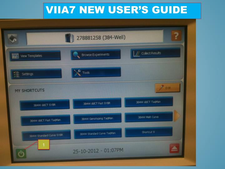 ViiA7 new user's guide