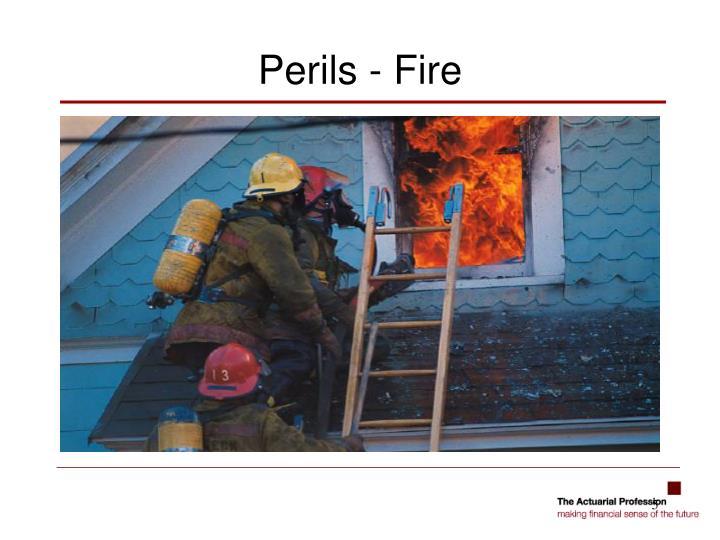 Perils - Fire