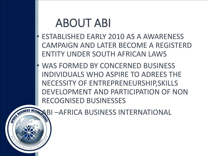 About abi