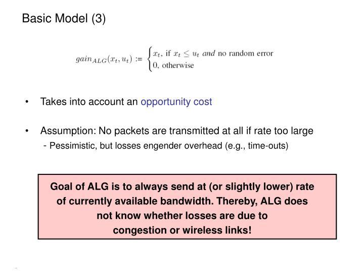 Basic Model (3)