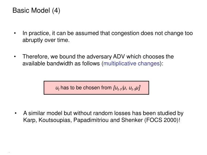 Basic Model (4)