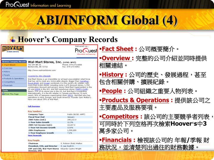 ABI/INFORM Global (4)