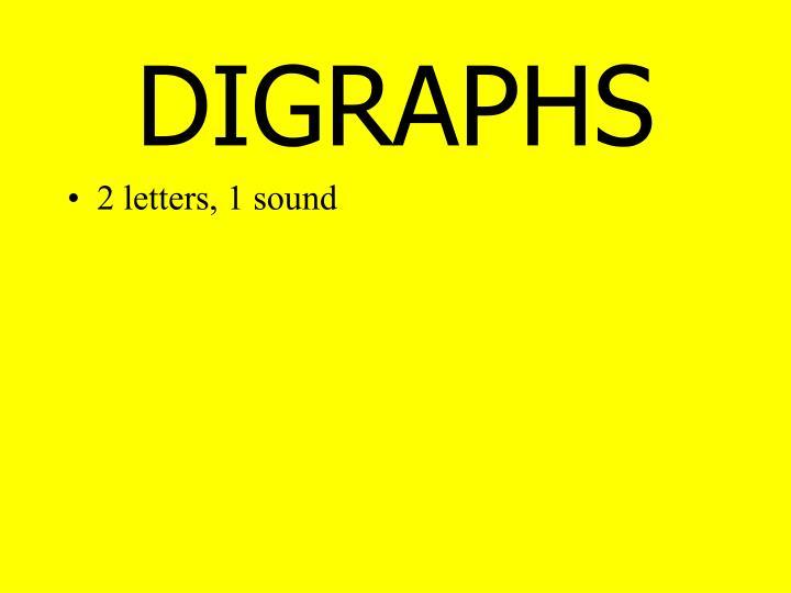 DIGRAPHS