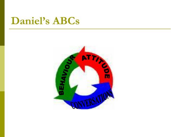 Daniel's ABCs