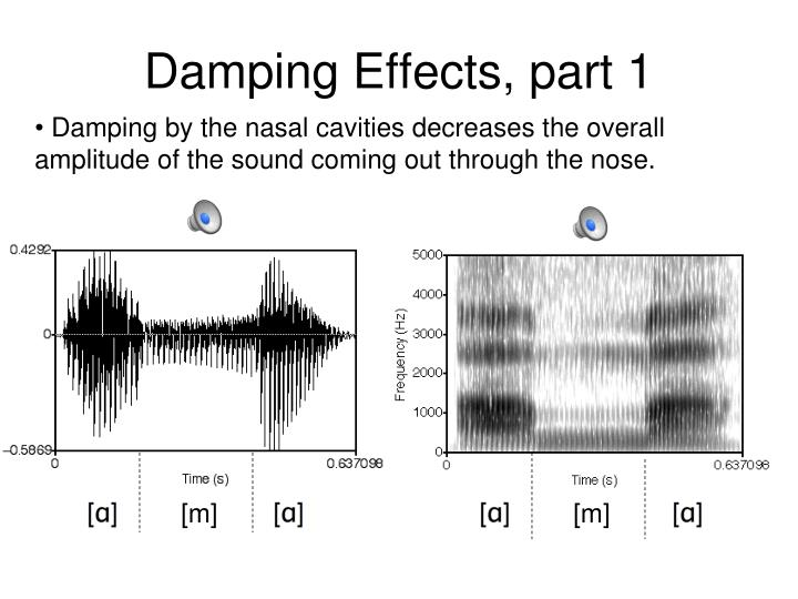 Damping Effects, part 1