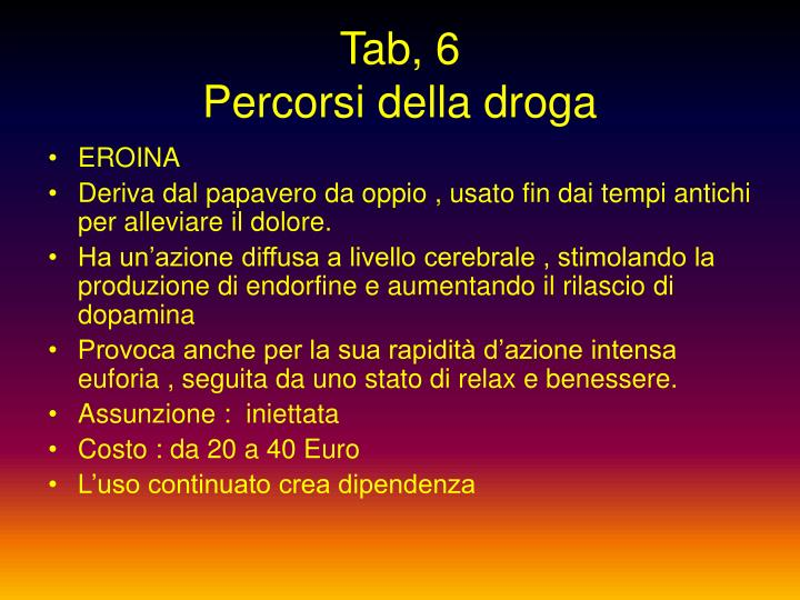 Tab, 6