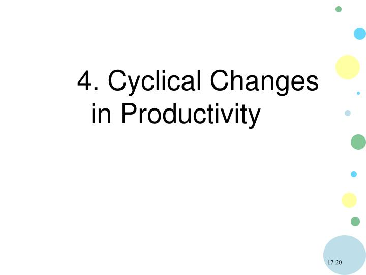 4. Cyclical Changes