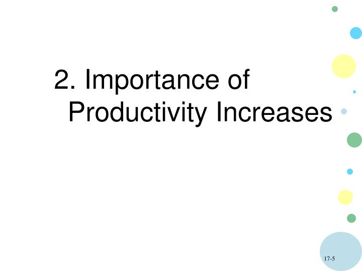 2. Importance of