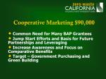 cooperative marketing 90 000