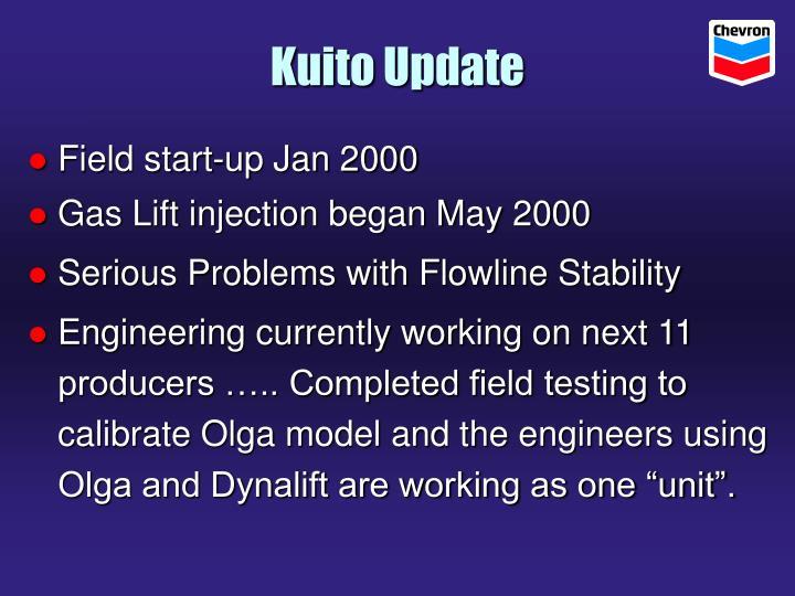 Kuito Update