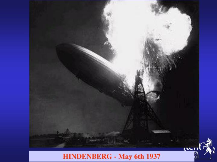 HINDENBERG - May 6th 1937